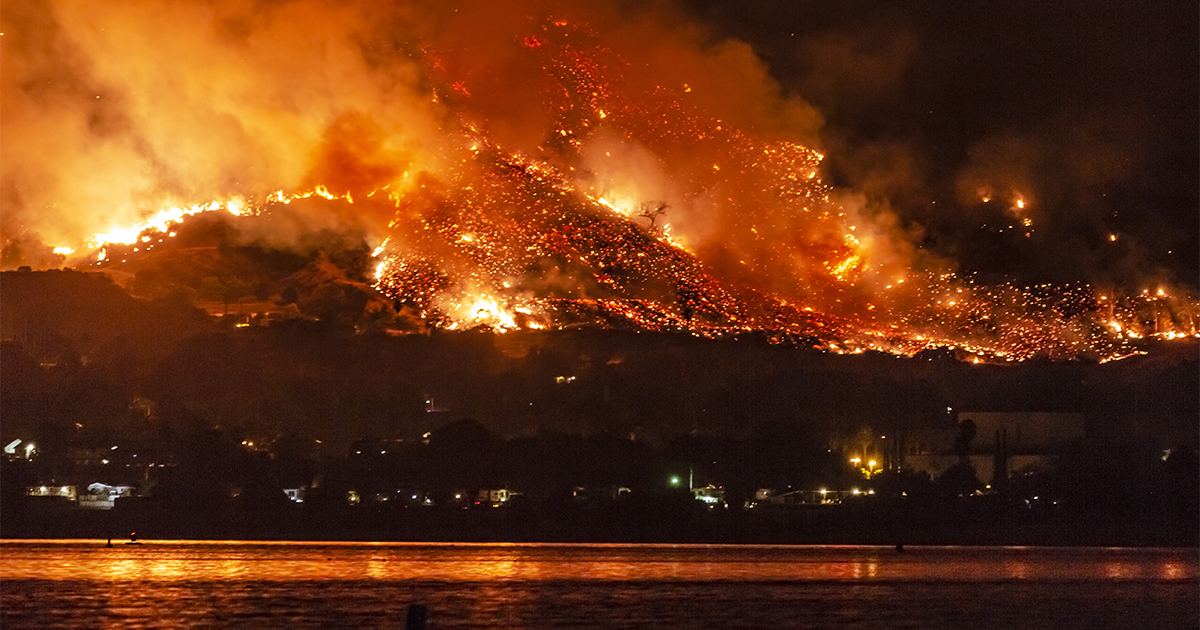 This model may help predict wildfires