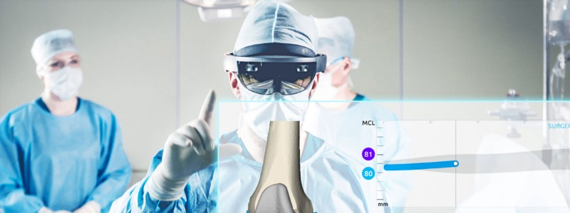 ar-assisted knee replacement