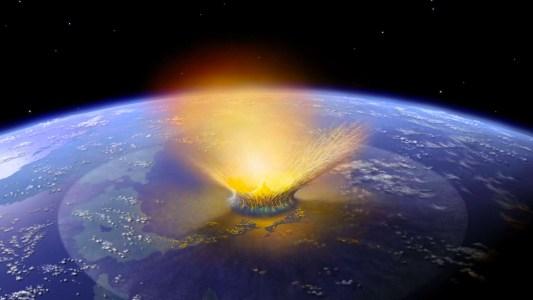 asteroid impact simulation