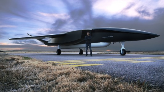 drone launches satellites