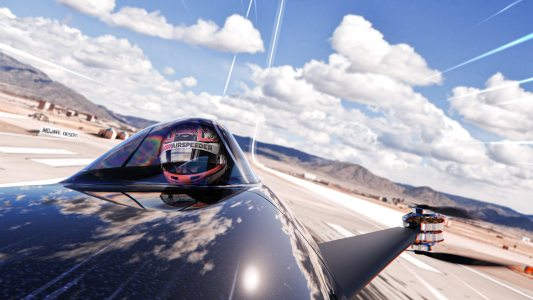 electric flying car race