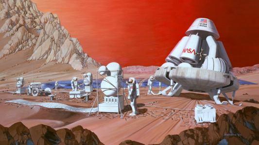 simulated mars mission