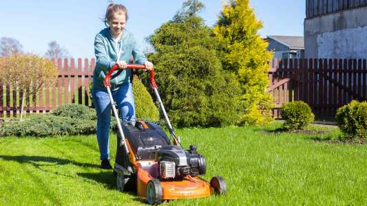 Mowing Lawns for People in Need