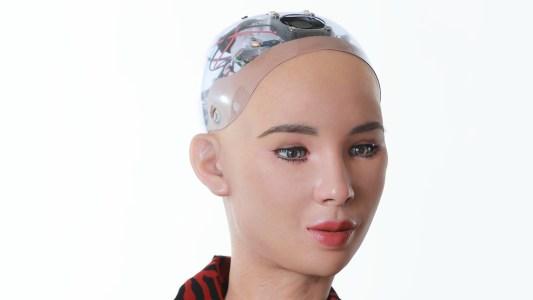 NFT sophia the robot