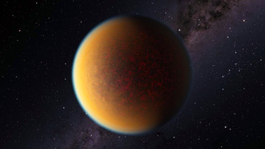 exoplanet made a second atmosphere