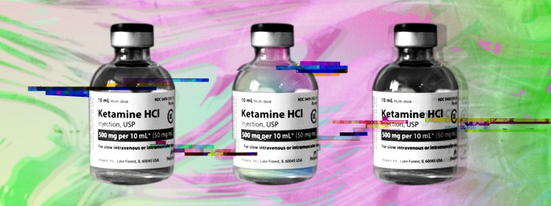 ketamine and virtual reality