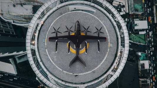 airlines preorder flying taxis