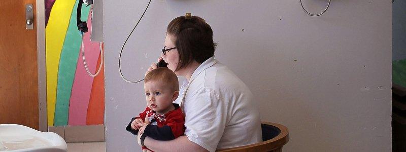 incarcerated mothers newborn babies