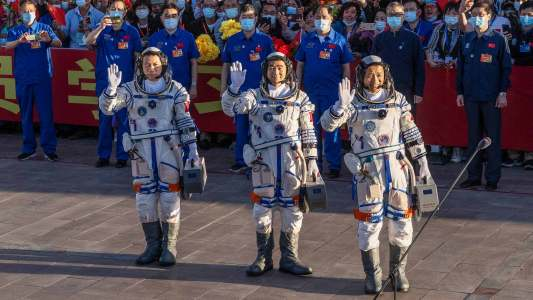 new chinese space station
