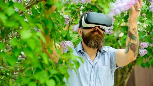 VR walking