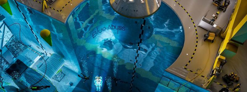 world's deepest pool