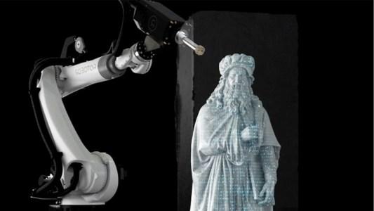 sculpting robots