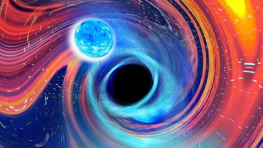 black holes neutron stars