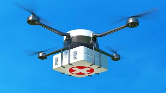 drone ambulances
